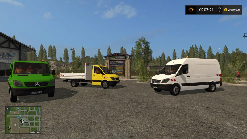 FS17 Mercedes Sprinter v1.1