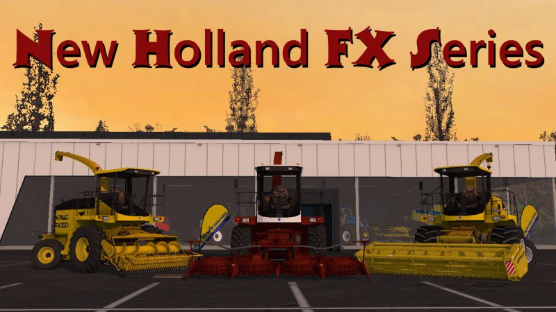 FS17 New Holland seria FX