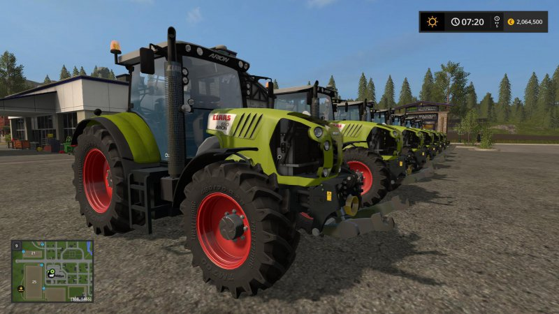 FS17 Claas Arion Series