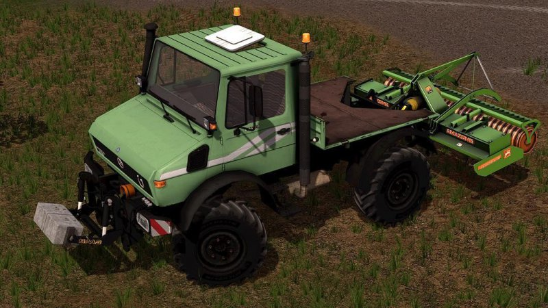 FS17 Mercedes Unimog U1200/U1600 v2.0 MR Edition