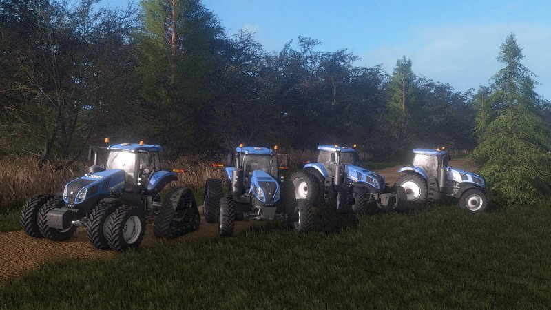 FS17 New Holland T8