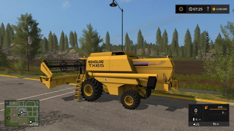FS17 New Holland TX 65