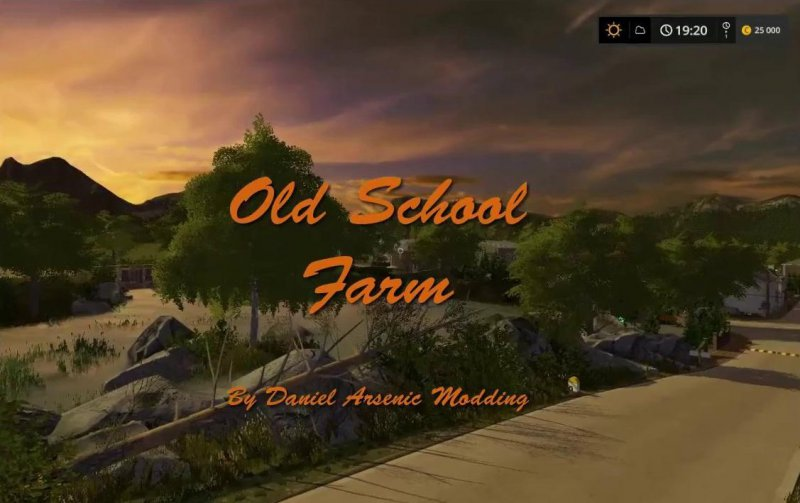 FS17 Old School Farm v2.0