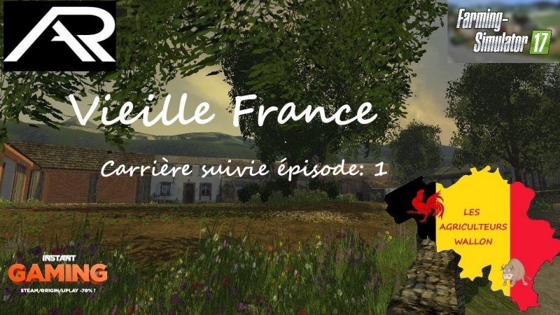 FS17 Vieille France v3.0