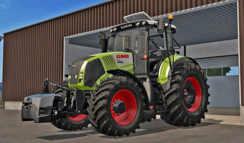 FS17 Claas Axion 800 (810, 830, 850)