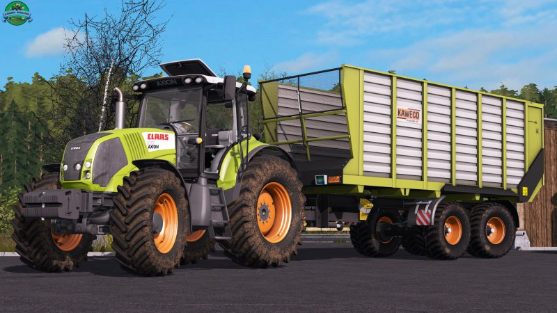 FS17 Claas Axion 800 V1.1.0.0