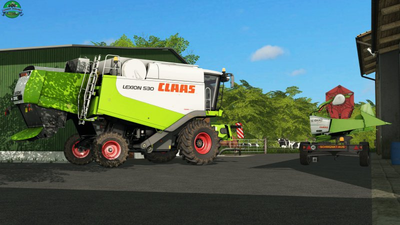 FS17 Claas Lexion 530 Pack V1.0.0.0 Final