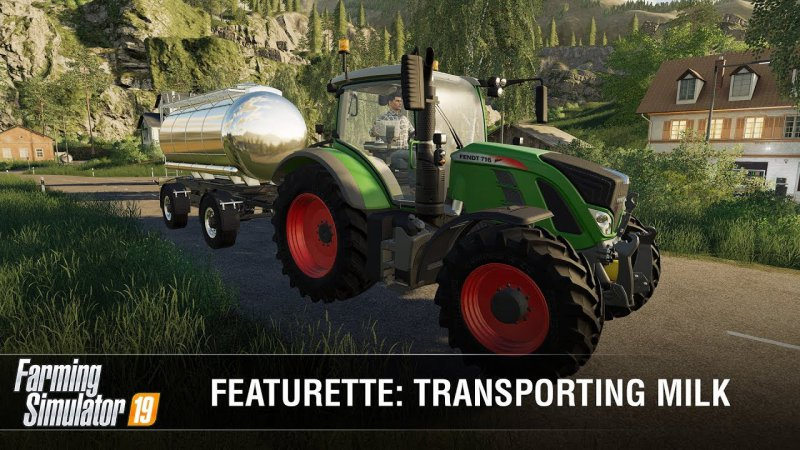 Farming Simulator 19 | Transport mleka