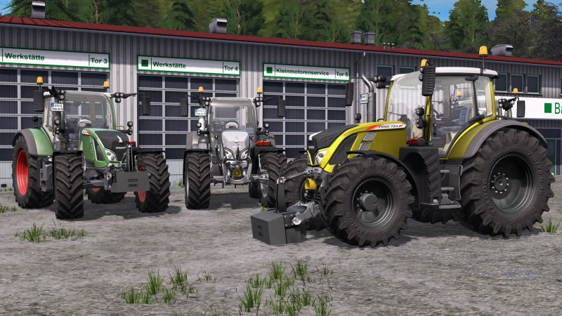 FS17 Fendt 700 Vario SCR V1.1.0.0 MR