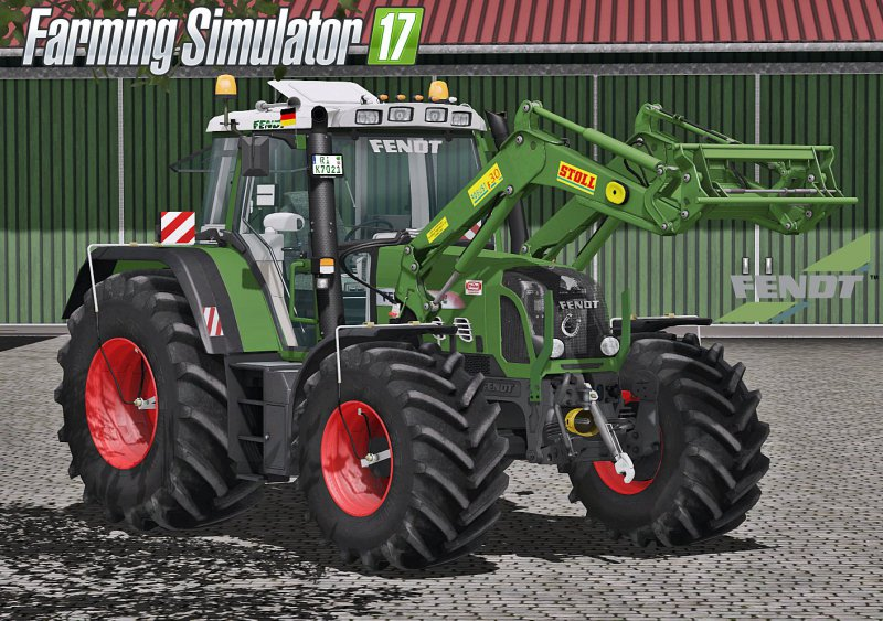 FS17 Fendt 818/820 Vario TMS Full Pack