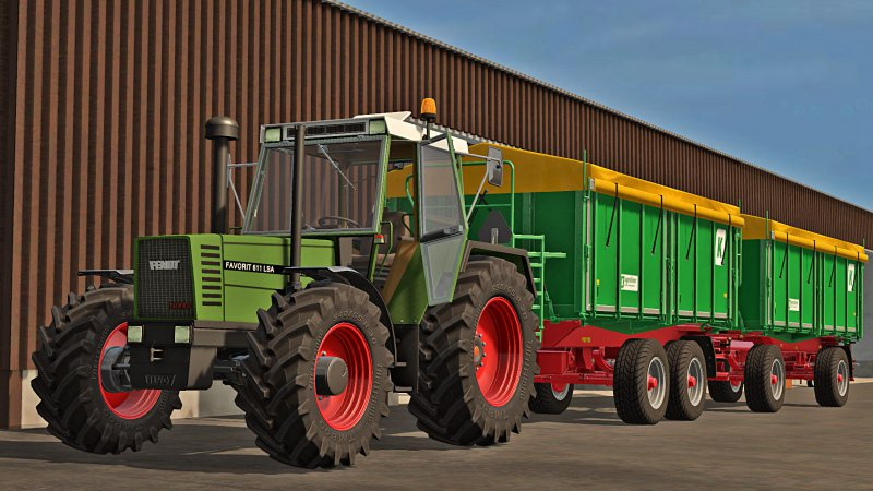 FS17 Fendt Favorit 600 LSA (611, 612, 615)