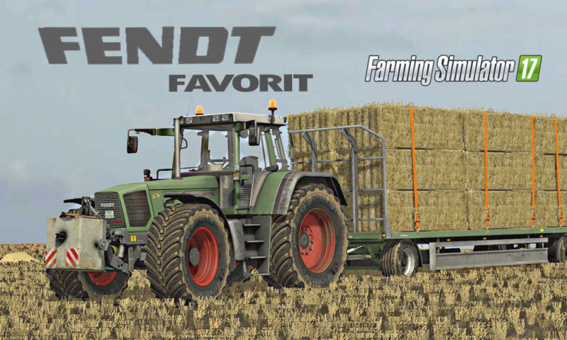 FS17 Fendt Favorit seria 816-824 v3.0