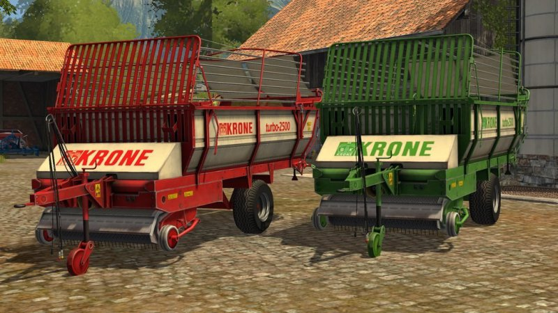 FS17 Krone Turbo 2500 v3