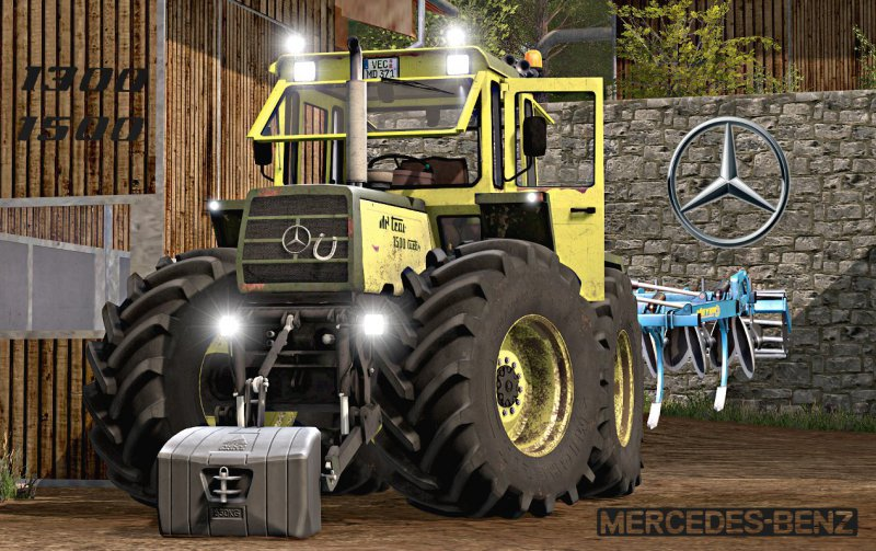 FS17 MB Trac 1300/1500 V2.0 Full Pack