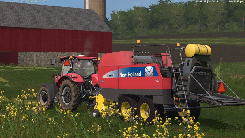 FS17 New Holland BB960A