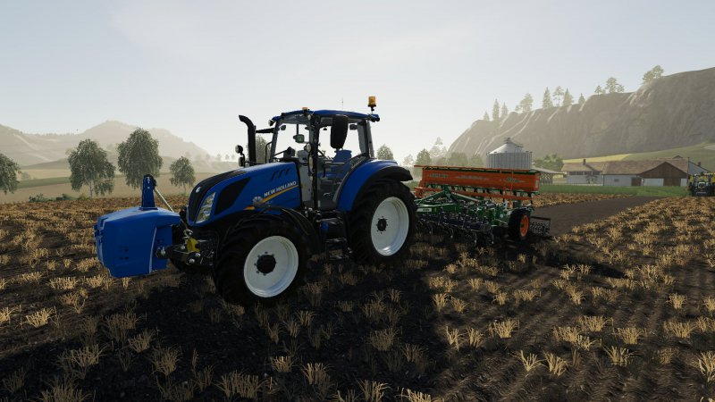New Holland T5 Chip Tunning
