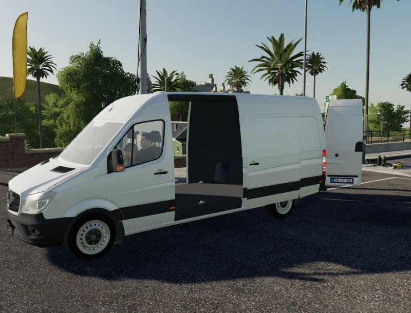 Mercedes Benz Sprinter LW v1.2