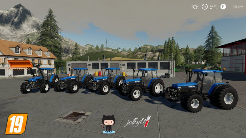 New Holland seria 40