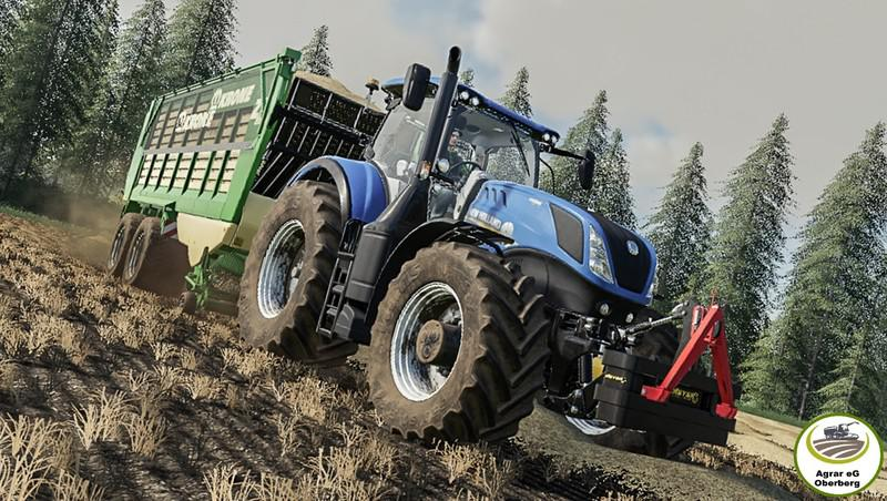 New Holland T7 By Agrar eG Oberberg
