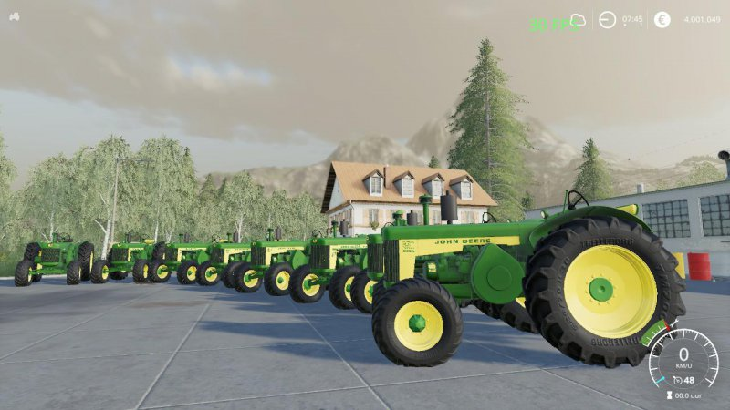 John Deere 80 series old