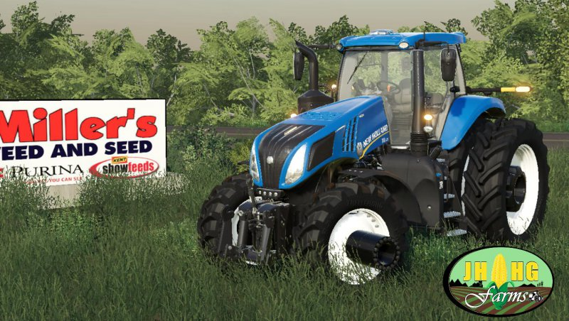 New Holland T.8 Row Crop