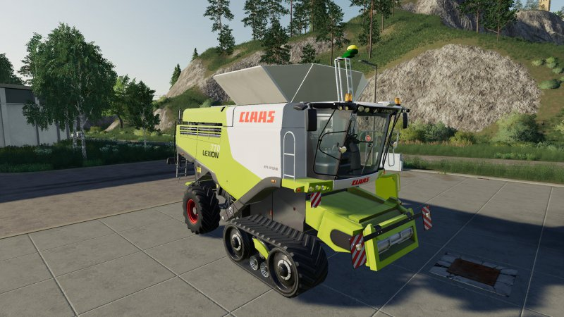 Claas Lexion 770 Stage IV