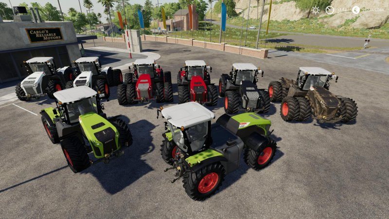 Claas Xerion 4000/4500/5000 v1.0.0.1