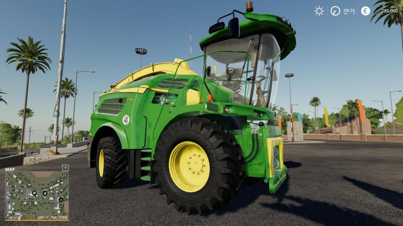 John Deere 8000 Serie Early Acces v0.5