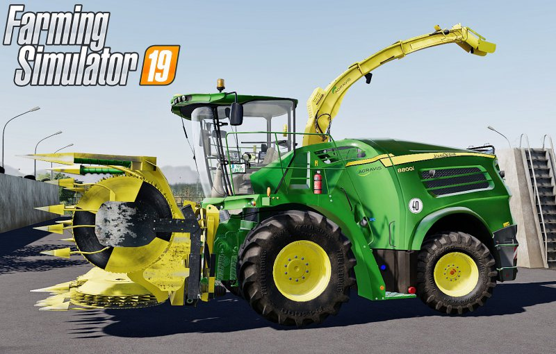 John Deere 8000i Series Pack