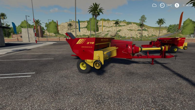 New Holland 378 z opcjami v1.2