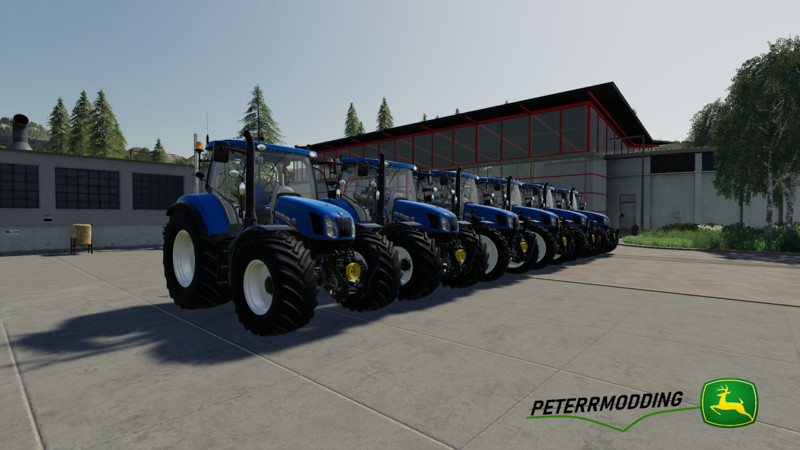 New Holland T6 Autocommand