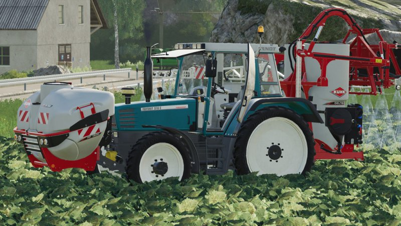 Fendt Favorit 509 510 v2
