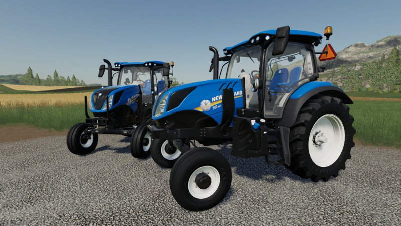 New Holland T6 – 2WD