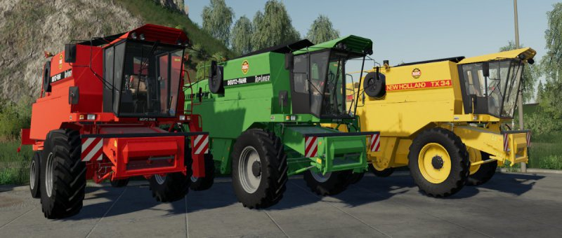 New Holland TX34/Deutz-Fahr Topliner Prototyp