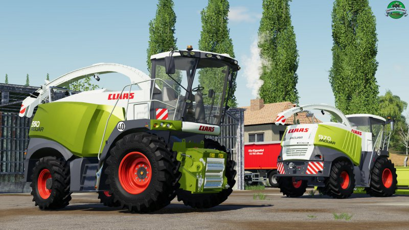 Claas Jaguar 900 Type 496