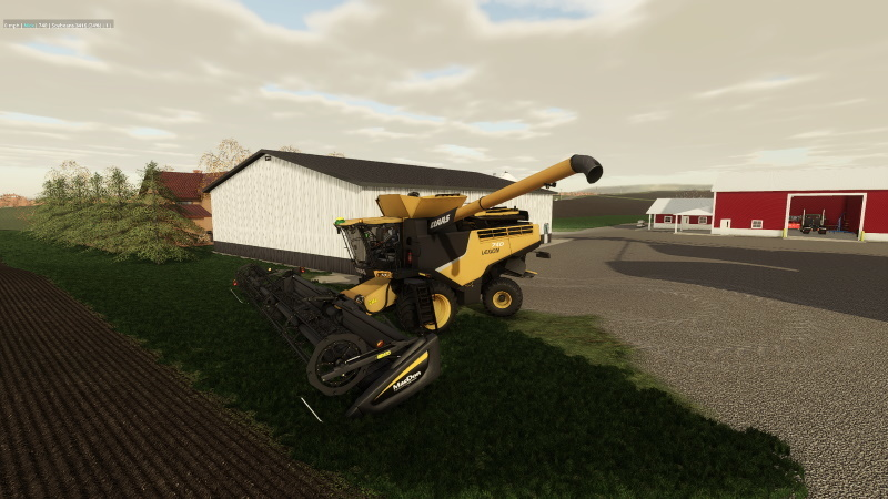 Claas Lexion 700 series