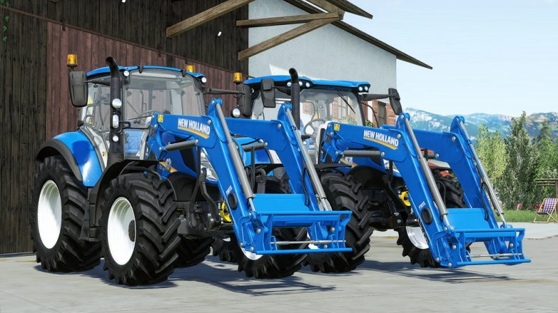 New Holland 700 TL Series