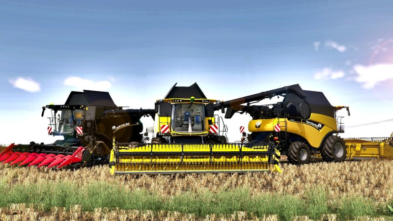 New Holland CR 8.90