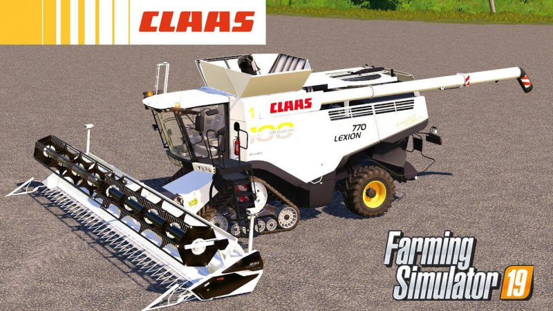 Claas Lexion 700 100th Anniversary (*UNREALISTIC*)