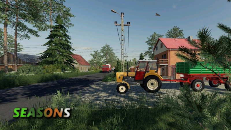 FS19 Sandomierskie okolice SEASONS