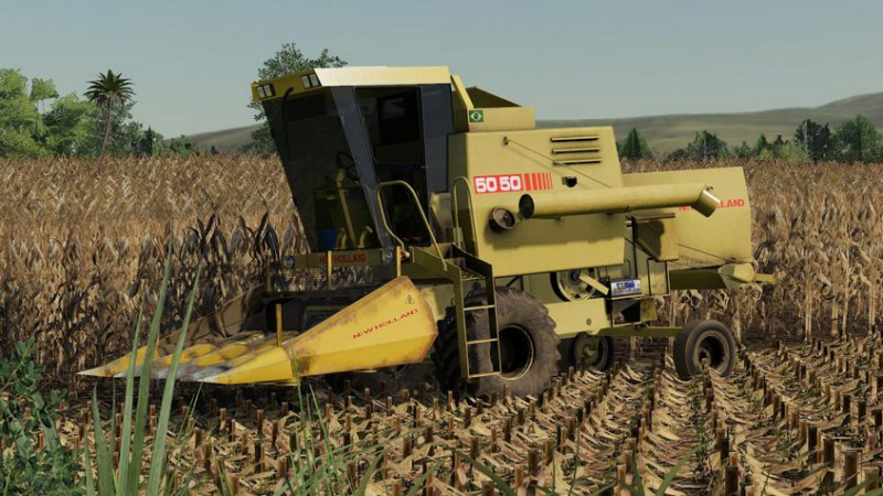 New Holland 5050 + Hedery