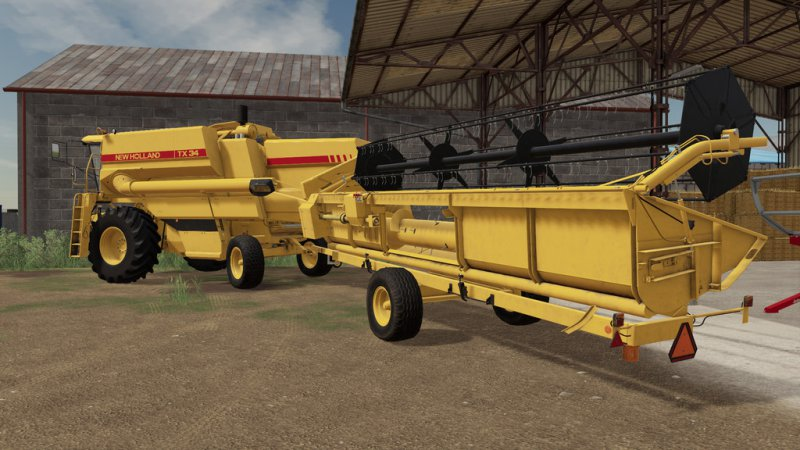 New Holland TX 6,1m Pack