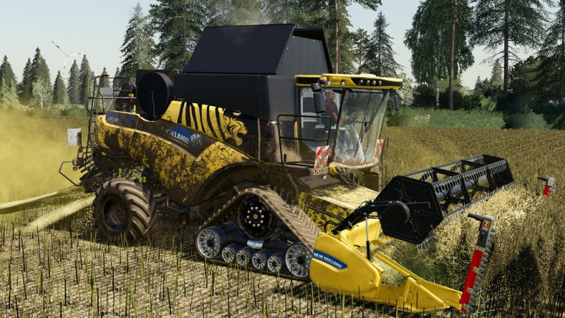 New Holland CR 6.90 v1.0.0.1