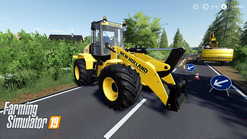 New Holland W170C v1.2