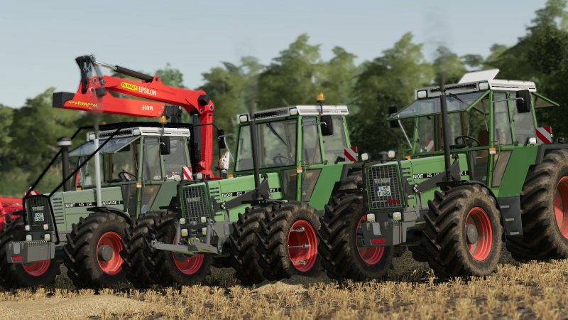 Fendt Favorit 611-615 LSA Pack V1.1
