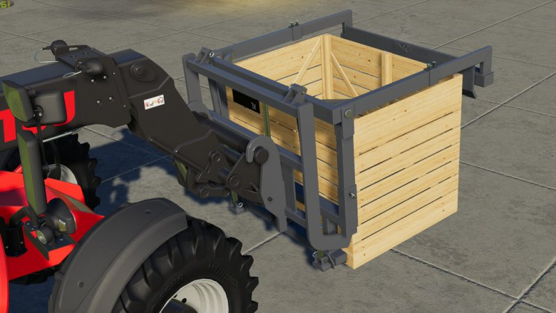 Naus Potato Storage Box And Turnable Pallet Fork v1.1