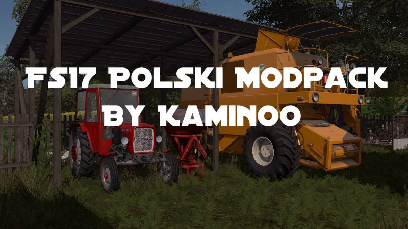 FS17 Fs17 Modpack by Kaminoo