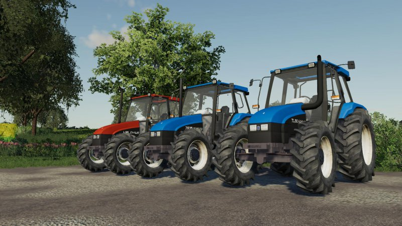 Pack New Holland Series L, TL & 35