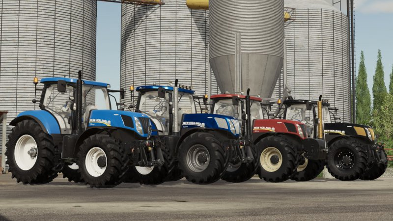 New Holland T7 AC Series v1.1