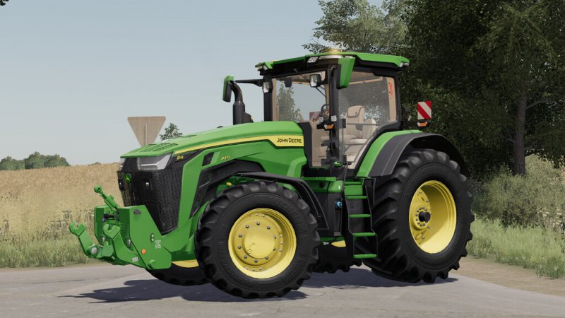 John Deere 7R, 8R, 8RT, 8RX 2020 EU-Version